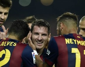Messi majestic in Barcelona victory over Eibar