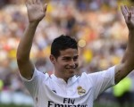 Real Madrid unveil James Rodriguez