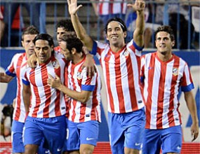 "Seven goals fell on ""Calderon"""