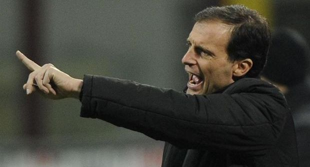 Allegri's best hope of a trophy this season is arguably the Coppa Italia