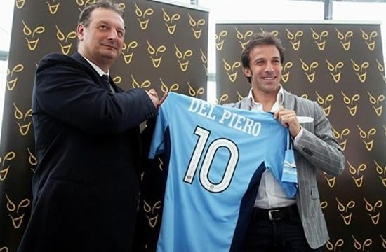 Alex Del Piero confirms Sydney switch