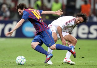 barcelona vs milan champions league live