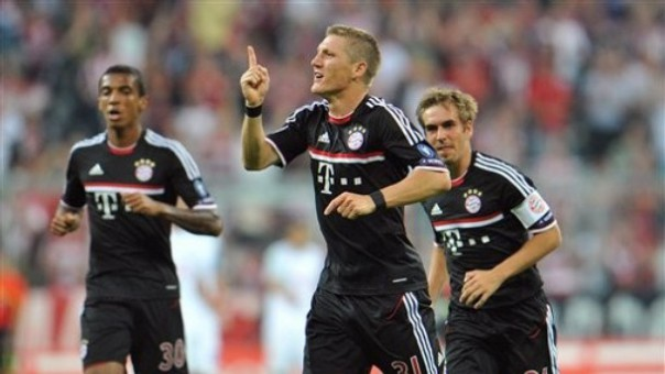 bayern win first leg play off champions league